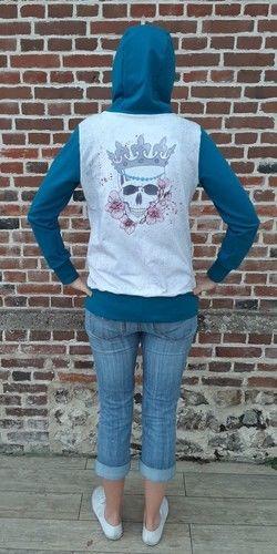 Makerist - sweat à capuche Fadenkafer - Créations de couture - 1