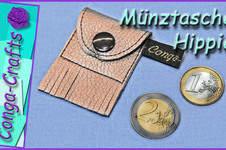 Makerist - Münztasche Hippie zu 50 Jahre Hippie - 1