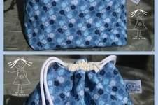 Makerist - Japanisches Kinchaku-Beutelchen von DIY Eule - 1