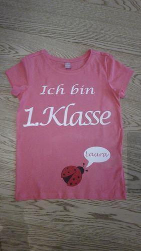 Makerist - Einschulungsshirt, Geschenk zur Einschulung  - Textilgestaltung - 1