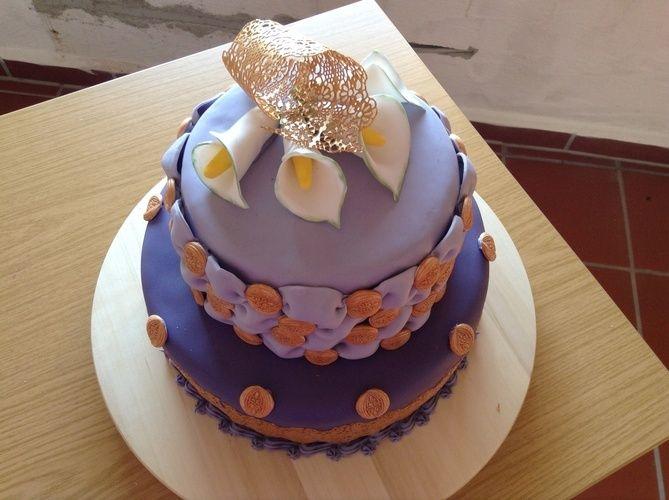 Makerist - Ein Lila Traum - Torten, Cake Pops und Cupcakes - 1