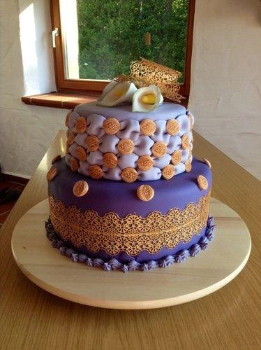Makerist - Ein Lila Traum - Torten, Cake Pops und Cupcakes - 2