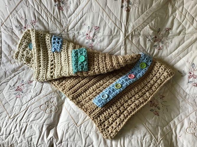 Makerist - The Button Blanket Blanket Throw - Crochet Showcase - 3
