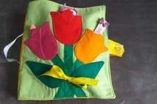 Makerist - Quietbook pour enfant de 0 à 3 ans tout en coton - 1
