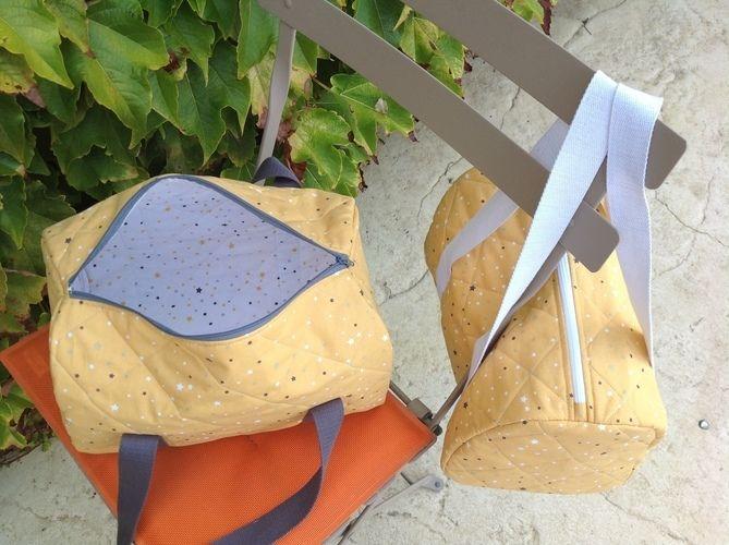 Makerist - Des sacs de sport pour mes petites filles - Créations de couture - 1