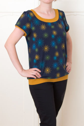 Makerist - Jersey-Shirt ESTHER - Nähprojekte - 1