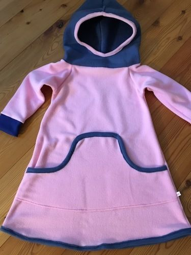 Makerist - Winterkleid für Mädchen aus   Fleece - Nähprojekte - 1