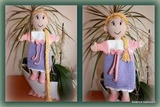 "Makerist - Handpuppe ""Rapunzel"" - 1"