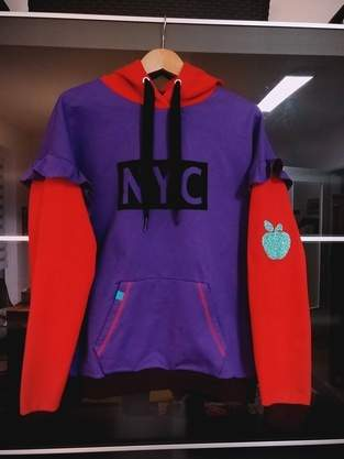 "Hoodie ""Big Apple/NYC"""