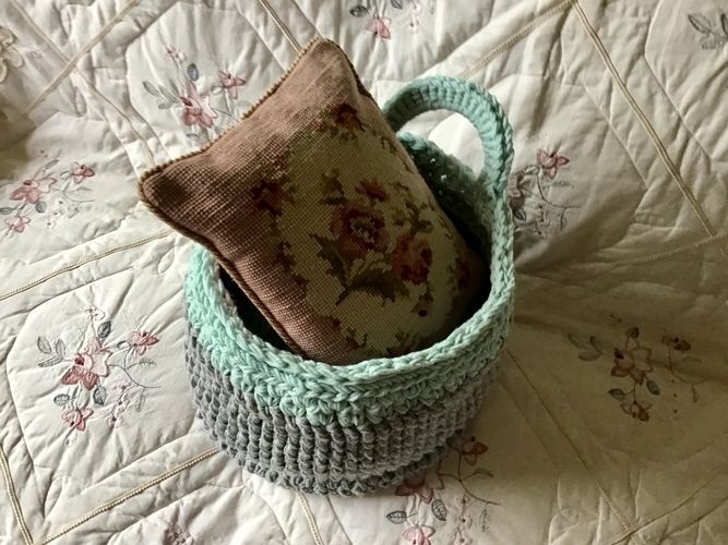 Makerist - The Hampton Gathering Basket - Crochet Showcase - 1