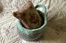 Makerist - The Hampton Gathering Basket - 1