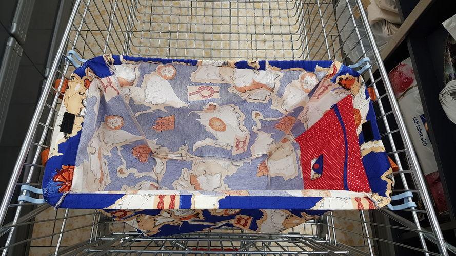 Makerist - SINA Einkaufswagentasche - Nähprojekte - 1