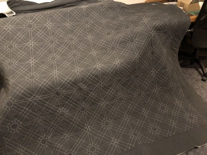 Makerist - Interlocked Squares / Ineinandergreifende Quadrate  - Patchwork-Projekte - 3