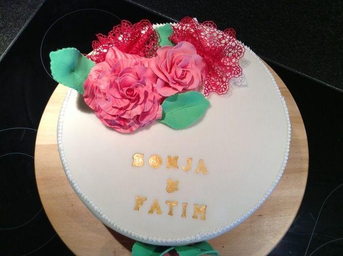 Makerist - Kleine Hochzeitstorte - Torten, Cake Pops und Cupcakes - 2