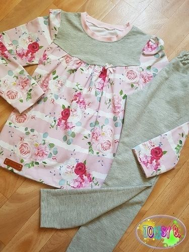 Makerist - Girly-Shirt + Leggins - Nähprojekte - 1