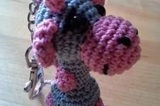 Makerist - Schlüsselanhänger Giraffe - 1