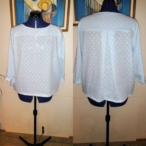 Makerist - Mme yoko en coton plumetis  - Créations de couture - 1