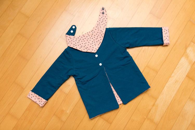 Makerist - Baby-Cardigan - Nähprojekte - 1