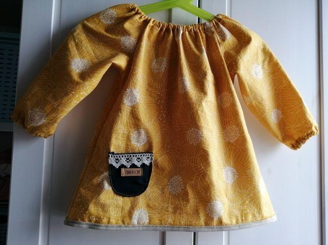 Makerist - Sommer Bluse in Größe 68 für meine Tochter - Nähprojekte - 1