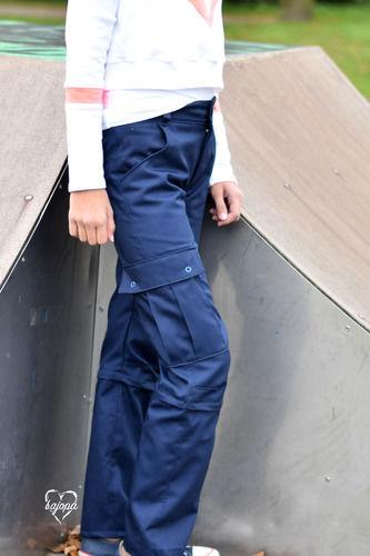 Makerist - Bei Rotbart gibt es jetzt auch die Cargohose Junior in lang - Nähprojekte - 2
