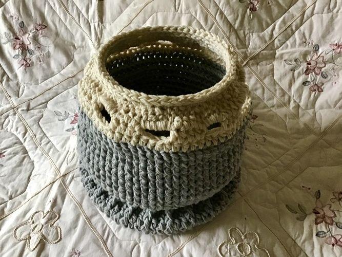 Makerist - The Hampton Filigree Basket - Crochet Showcase - 2