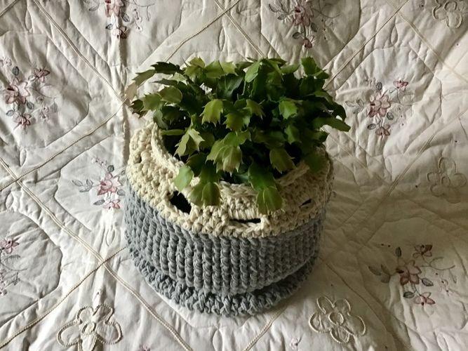 Makerist - The Hampton Filigree Basket - Crochet Showcase - 3