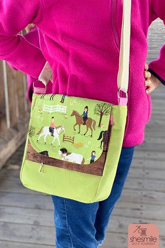 Makerist - Eine Handtasche Ulla aus Pferdestoff für meine Tochter - Nähprojekte - 1