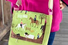 Makerist - Eine Handtasche Ulla aus Pferdestoff für meine Tochter - 1