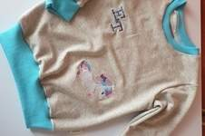 Makerist - Basic-Shirt aufgepeept - 1