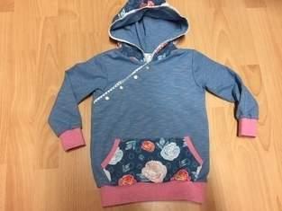 Makerist - Hoodie aus Jersey für die Enkelmaus - 1