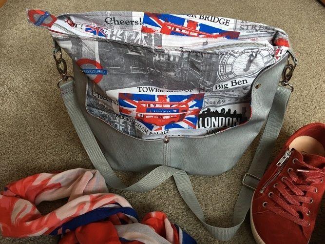 Makerist - Hobobag Silja aus London-Canvas - Nähprojekte - 1