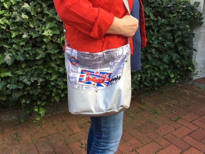 Makerist - Hobobag Silja aus London-Canvas - Nähprojekte - 2
