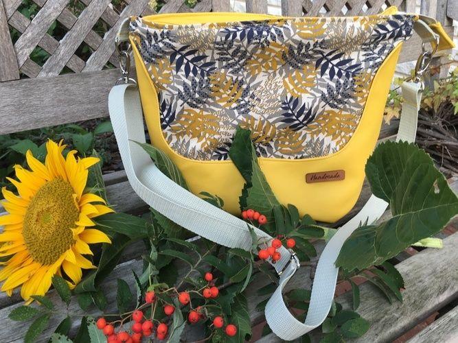 Makerist - Hobobag Silja, die Herbstliche - Nähprojekte - 1