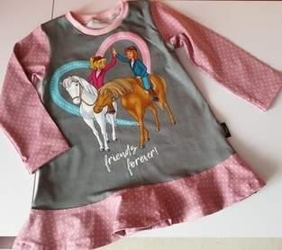 Tunika für unsere kleine Pferdenärrin
