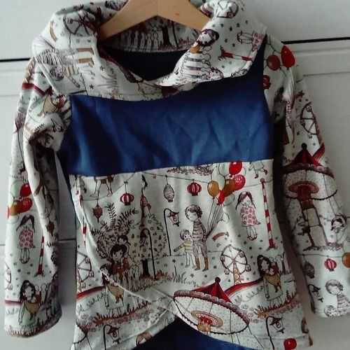 Makerist - Sweat fille coccoletta - Créations de couture - 1