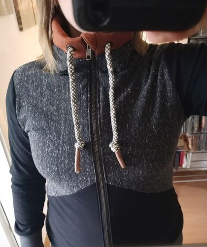 Makerist - Sweatjacke nach eigener Kreation - Nähprojekte - 3