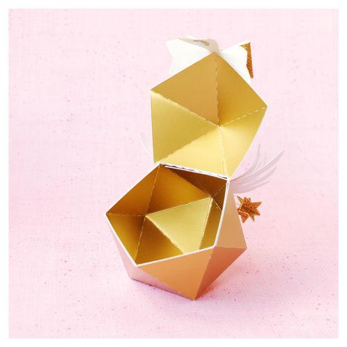 "Makerist - plottered round gift box ""angel bug"" - DIY-Projekte - 3"