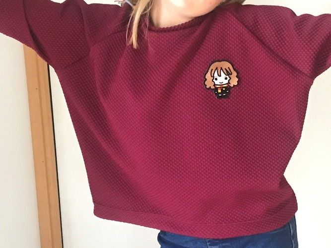 Makerist - Sweat Mona fille version Harry Potter - Créations de couture - 2