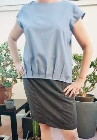 Makerist - Mme Nina en coton bleu - 1