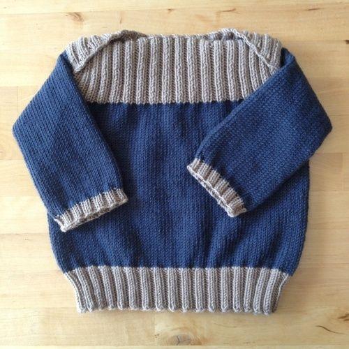 Makerist - Pullover für kleine Männer - Strickprojekte - 1