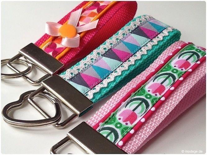 Makerist - Ein kleines Designerstück - Schlüsselband  - Nähprojekte - 1