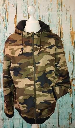 Softshelljacke Camouflage Zippjacket