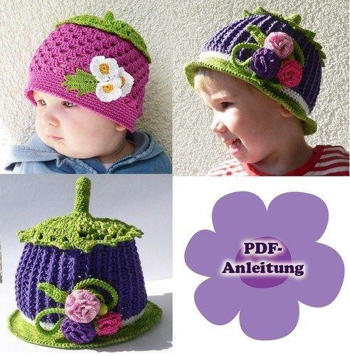 Makerist - Hut oder Mütze Glöckchen - Häkelprojekte - 1