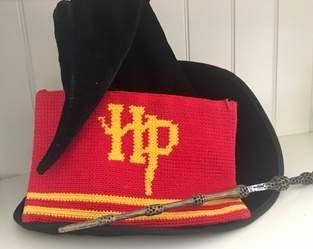 Makerist - Pochette au crochet Harry Potter. - 1