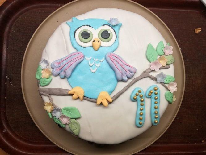 Makerist - Eulentorte zum Geburtstag - Torten, Cake Pops und Cupcakes - 1