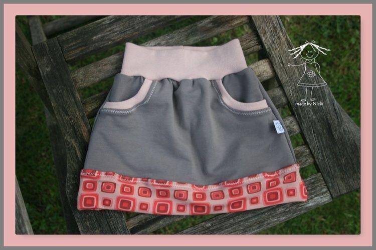 Makerist - Rock Little Sweat Skirt von Lin-Kim - Nähprojekte - 1