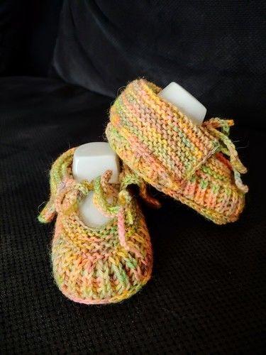 Makerist - Süsse Babyschuhe - Strickprojekte - 1