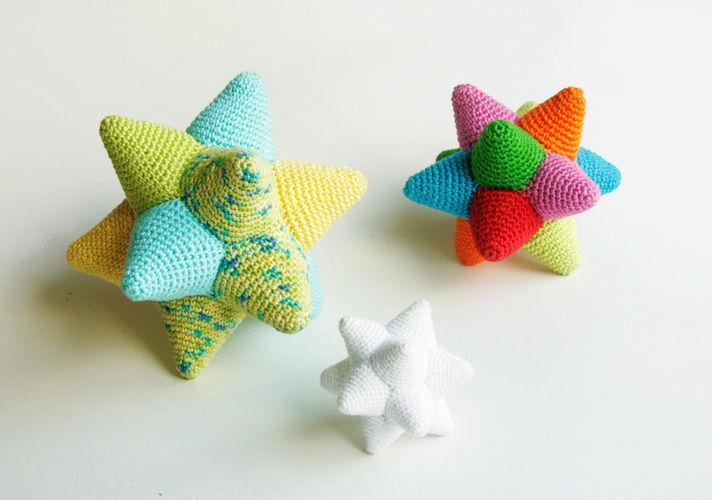 Makerist - Sternenbälle - Häkelprojekte - 1
