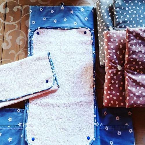 Makerist - Matelas à langer nomade coton - Créations de couture - 1
