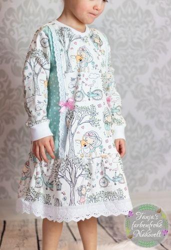Makerist - SmarTee V-Shirt als Dress von From Heart to Needle - Nähprojekte - 1